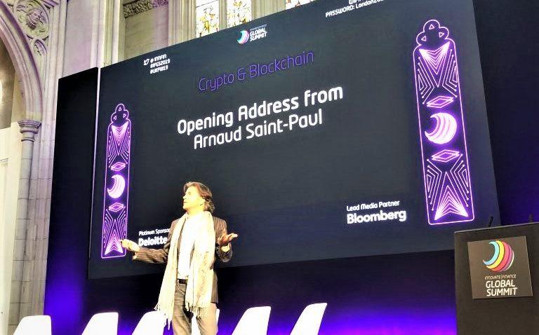 Arnaud Saint-Paul at Innovate Finance